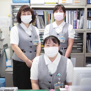 \資格&経験不要!未経験歓迎/主婦活躍中!病院内の受付業務。興味のある方まず連絡を下さい。